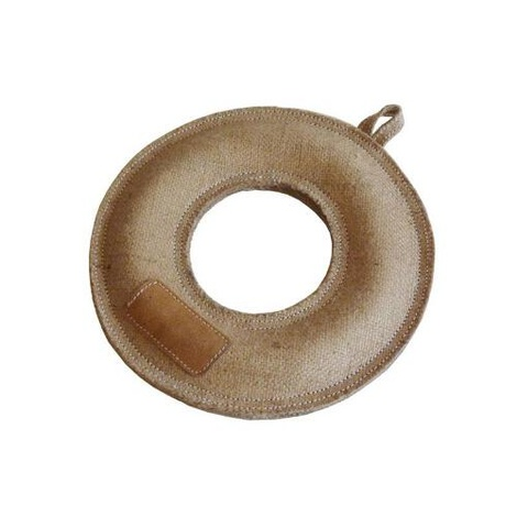 Jute Donut Pet Toy