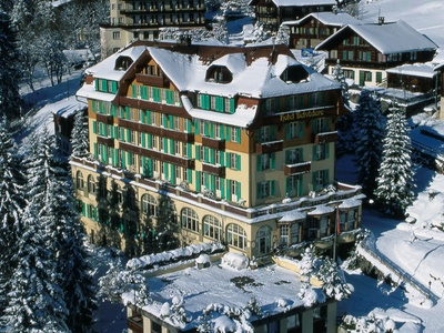 Hotel Belvedere, Switzerland