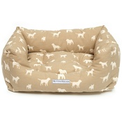 Mutts & Hounds - French Grey Boxy Bed