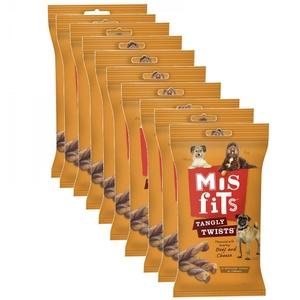 Misfits - Tangly Twists Dog Treat x 10