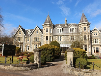 The Craiglynne Hotel, Highlands, Grantown-on-Spey