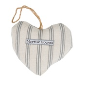 Mutts & Hounds - Organic Ticking Mist Linen Lavender Heart