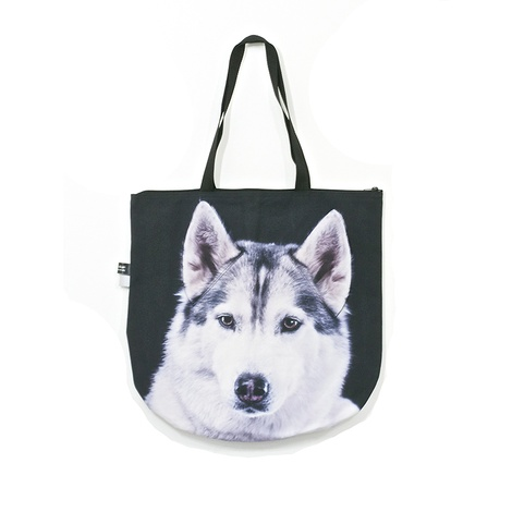 Baba the Husky Dog Bag