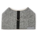 Stoneham Grey Tweed Dog Harness 3