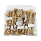 Howlers - Howlers Natural Rawhide Giant Knotted Bones