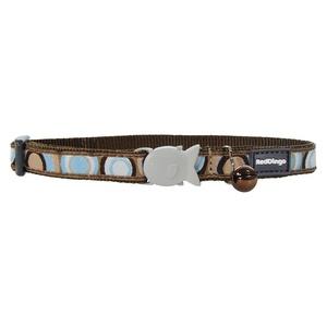 Brown Circadelic Cat Collar