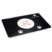 Cool Dog Club - Cool Dog Water & Food Dog Bowl Placemat (Slogan 1)
