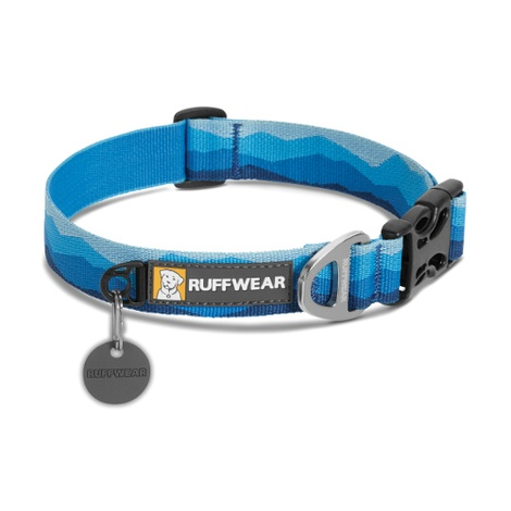 Hoopie Dog Collar - Blue Mountains