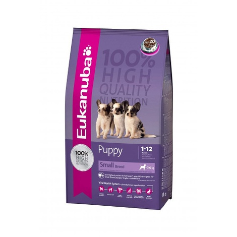 Eukanuba Puppy & Junior Small Breed Dog Food 3kg