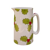 Laura Lee Designs - Holly & Berry Farmhouse Jug