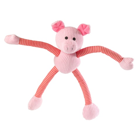 Piggy Long Legs Squeaky Dog Toy