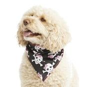 Pet Pooch Boutique - Pink Glitter Skulls Dog Bandana