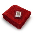 Personalised Red Luxury Sherpa Blanket
