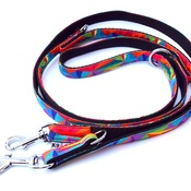 K9 - Adjustable Lead - Rainbow