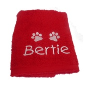 My Posh Paws - Personalised Santa Paws Pet Towel
