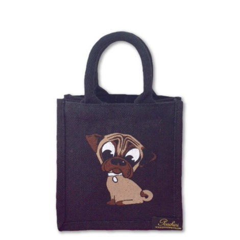 Mini Pug Bag - Black