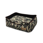 In Vogue Pets - Camouflage Lounge Dog Bed