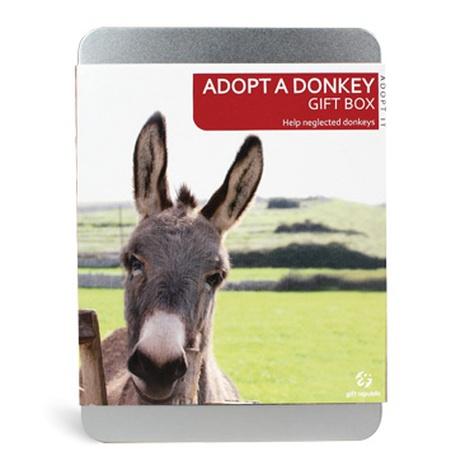 Adopt A Donkey Gift Box