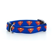 "Pet Pooch Boutique - Superman Dog Collar 1"" Width"