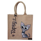 Poochini Pets - Bespoke Poochini Original Bag - Natural