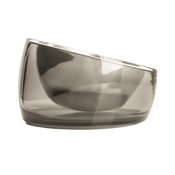 PetDreamHouse - Fellipet Oblik Superb Dog Bowl - Smoke