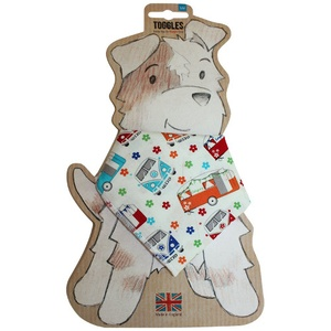 Toggles Happy Glampers Puppy & Dog Bandana