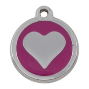 Tagiffany - My Sweetie Pink Heart Pet ID Tag