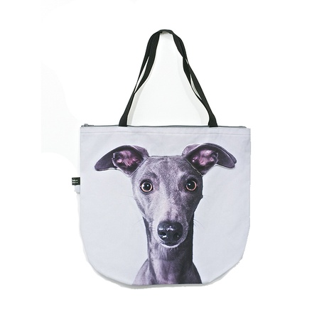 Shadow the Whippet Dog Bag