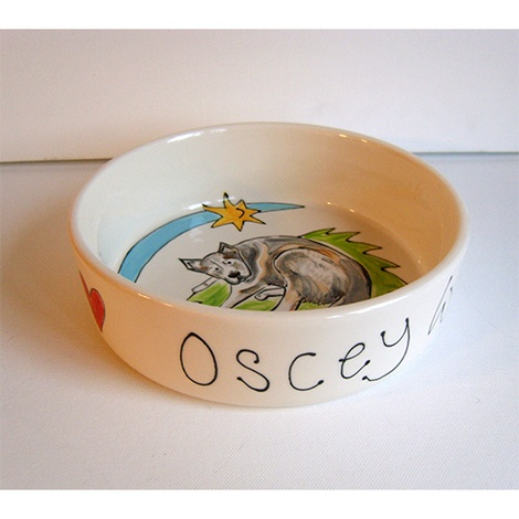 Large Personalised Dog Bowl 2