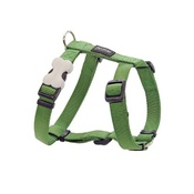 Red Dingo - Plain Dog Harness - Green