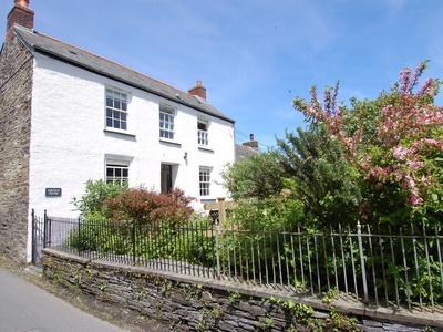 Jordan House, Cornwall, Boscastle