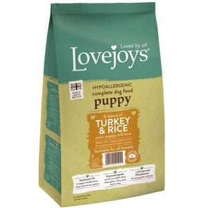 Lovejoys Puppy Turkey & Rice Dry Dog Food 15kg