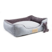 Bowl&Bone Republic - Classic Dog Bed - Grey