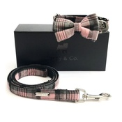 Percy & Co - Collar, Bow Tie and Lead Set - Siddington