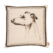 Amy Brocklehurst - Whippet Cushion