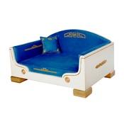 Katalin zu Windischgraetz - Classic Antique White & Gold Dog Bed