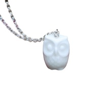 White Rabbit - Owl Necklace