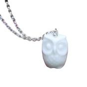 White Rabbit - Owl Necklace