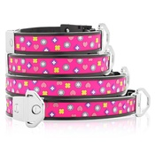 Cool Dog Club - Cool Dog K9 Striker MK2 Charm Pink Dog Collar