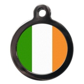 PS Pet Tags - Irish Flag Pet ID Tag