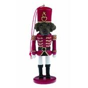 NFP - Chocolate Labrador Nutcracker Soldier Ornament