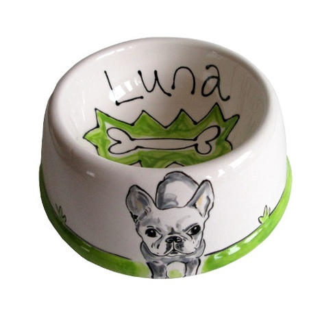 Small Personalised Dog Bowl 4