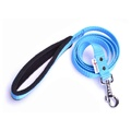 Fleece Comfort Dog Lead – Sky Blue
