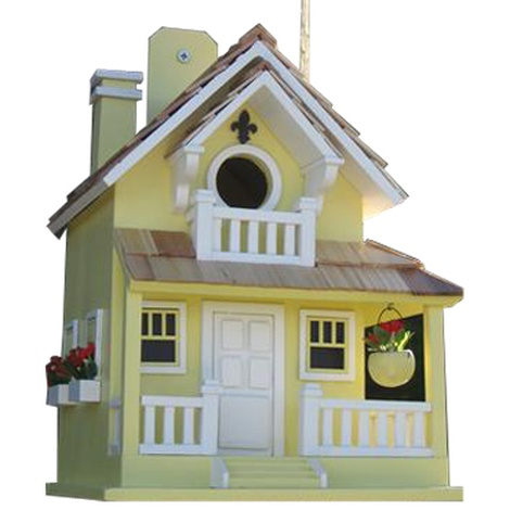 Backyard Bird Cottage - Yellow