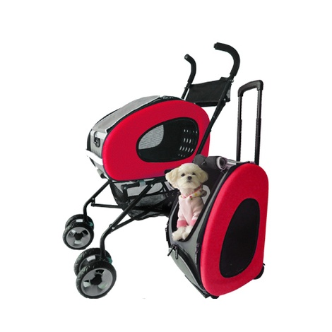 5-in-1 Pet Buggy Pink
