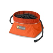 Ruffwear - Quencher Cinch Top Bowl - Pumpkin Orange