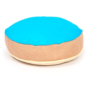 Cosy Top Soft Dog Bed - Blue
