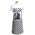 Flat Coat Check Apron