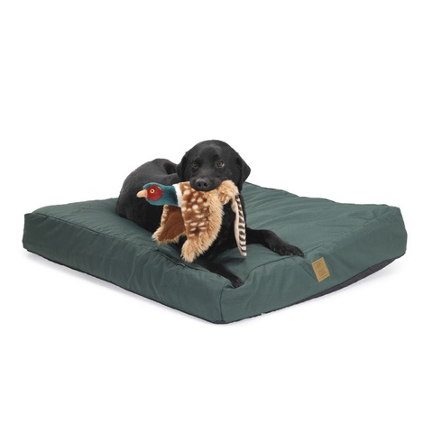 Green Water Resistant Deep Filled Dog Bed