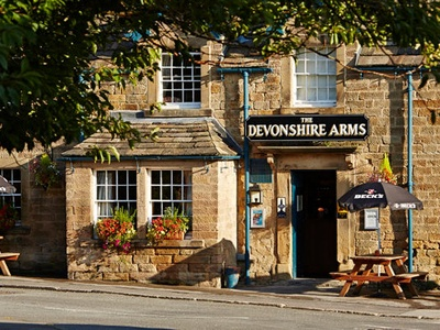 The Devonshire Arms at Pilsley, Derbyshire, Pilsley